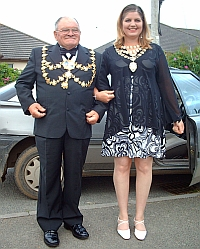 Y Maer a'r Faeres / The Mayor and Mayoress